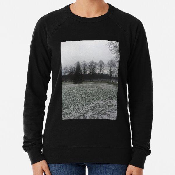 Snowy Trees Lightweight Sweatshirt