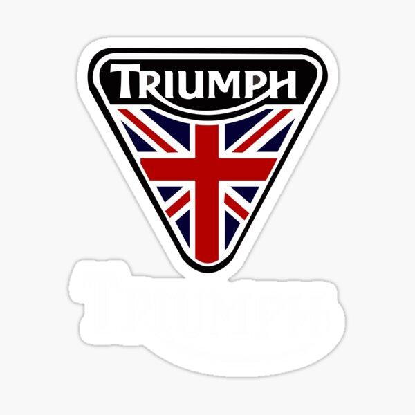 the triumph logo Sticker