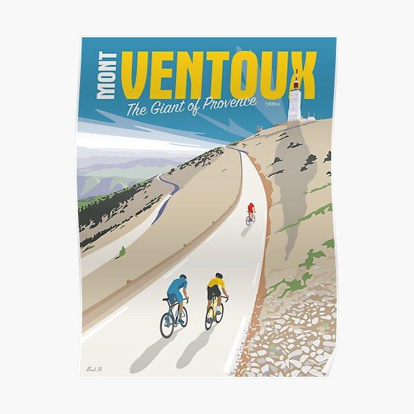 MONT VENTOUX Le Géant de Provence TOUR DE FRANCE Poster