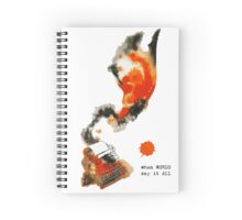 When Words Say It All Spiral Notebook