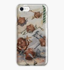 John R. Neill - Personified Muffins Tumbling Out Of Steam. Child portrait: cute baby, kid, children, pretty angel, child, kids, lovely family, boys and girls, boy and girl, mom mammy mam, childhood iPhone Case/Skin