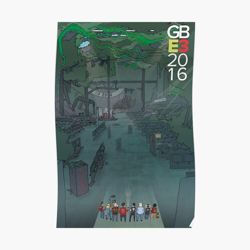 Riesige Bombe x E3 x 2016 Poster