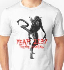 "NEW* ALIEN: ISOLATION MERCHANDISE... ""YEAR 2137 NEVER FORGET"" Unisex T-Shirt"