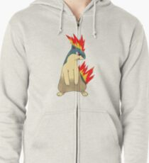 Quilava Zipped Hoodie
