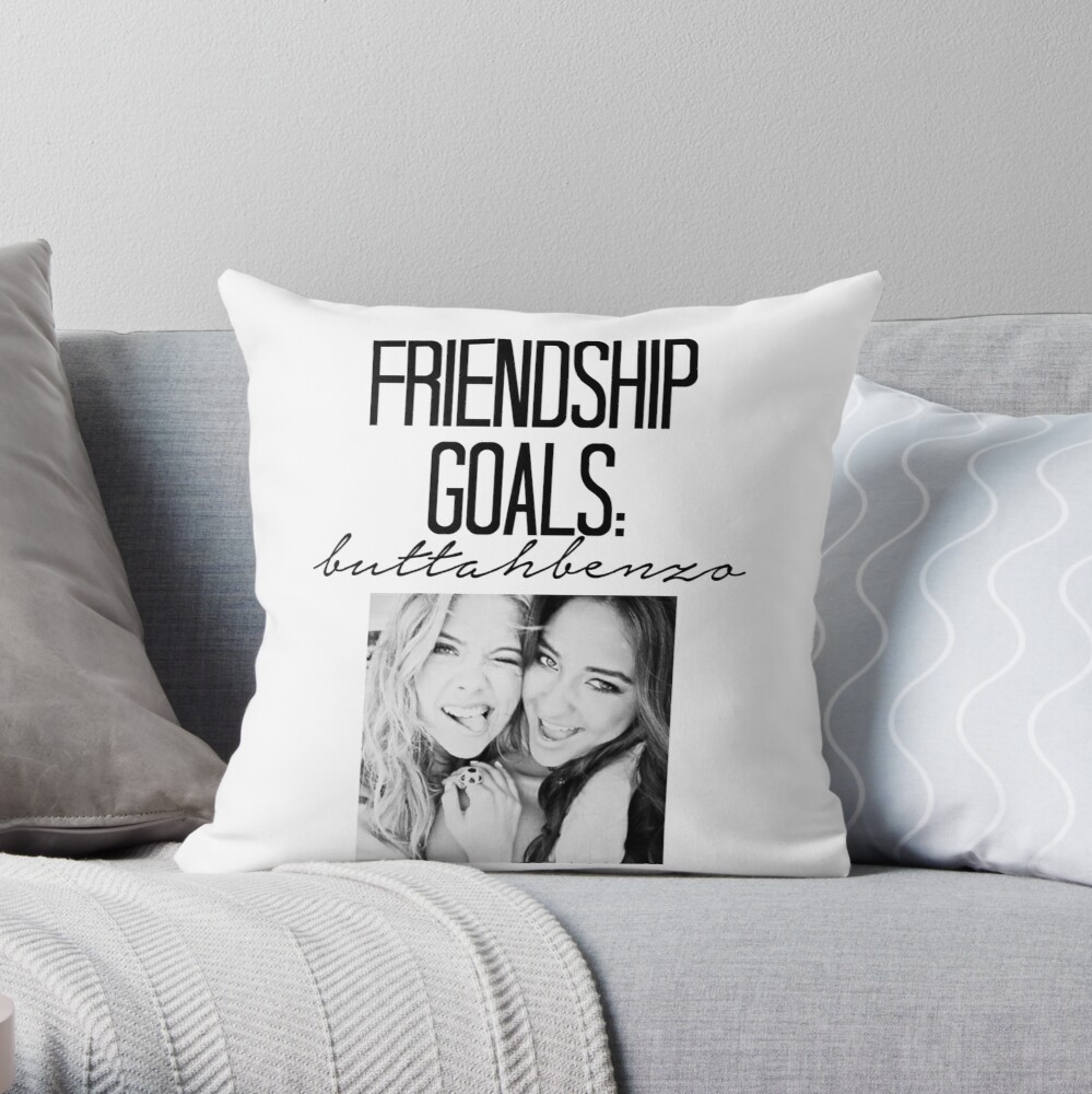 Freundschaftsziele; ButtahBenzo Dekokissen
