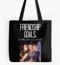 Freundschaftsziele; ButtahBenzoBells-- Weiß Tote Bag