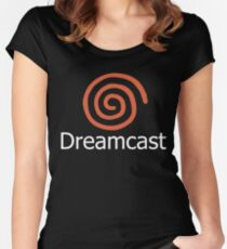 Sega Dreamcast Women's Fitted Scoop T-Shirt