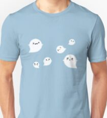 Tiny Ghost Clouds Unisex T-Shirt