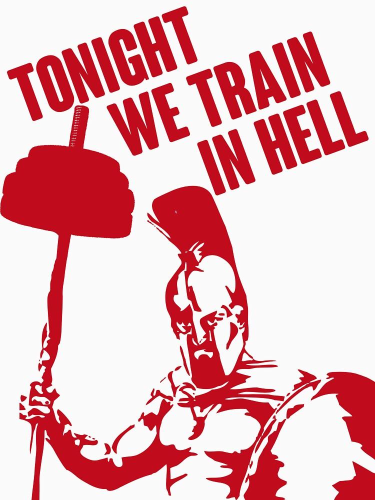 TONIGHT_WE_TRAIN_IN_HELL | Unisex Tank Top