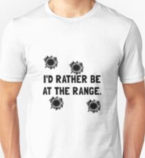 Gun Range Unisex T-Shirt