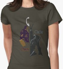 Chaos & Order Womens Fitted T-Shirt