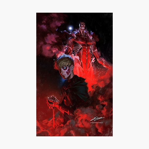 Armin Arlert - God of Destruction (V2) Photographic Print