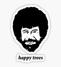 happy trees Sticker