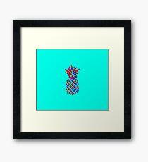 Red Pineapple Framed Print