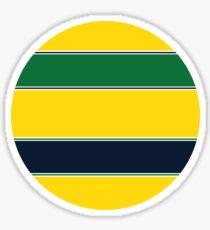 Yellow Helmet design  Sticker