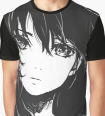 Anime Sketch Head Graphic T-Shirt