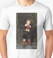John Singer Sargent - Robert 1879. Child portrait: cute baby, kid, children, pretty angel, child, kids, lovely family, boys and girls, boy and girl, mom mum mammy mam, childhood T-Shirt
