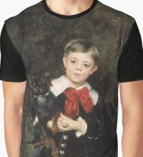 John Singer Sargent - Robert 1879. Child portrait: cute baby, kid, children, pretty angel, child, kids, lovely family, boys and girls, boy and girl, mom mum mammy mam, childhood Graphic T-Shirt