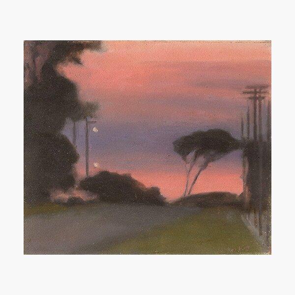 Evening Landscape - Clarice Beckett Photographic Print