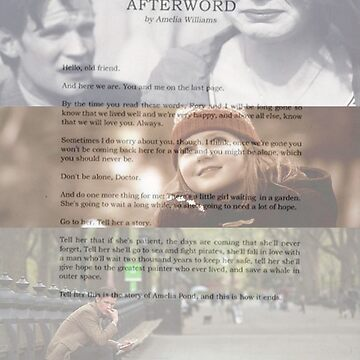 Afterword By Amelia Williams by AlexBeloe