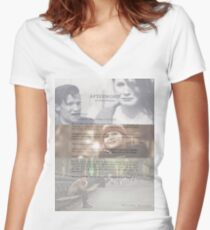 Afterword By Amelia Williams Women's Fitted V-Neck T-Shirt
