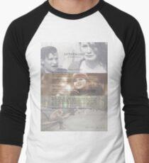 Afterword By Amelia Williams Men's Baseball ¾ T-Shirt