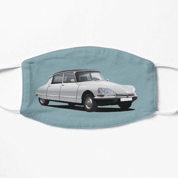 Illustration Citroen DS, blanche Masque sans plis