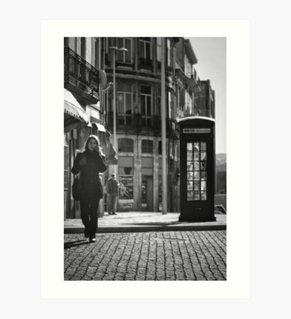 The Dying Telephone Booth Art Print