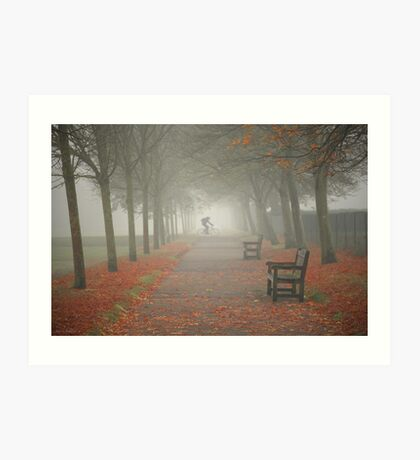 And then came the fog... Art Print