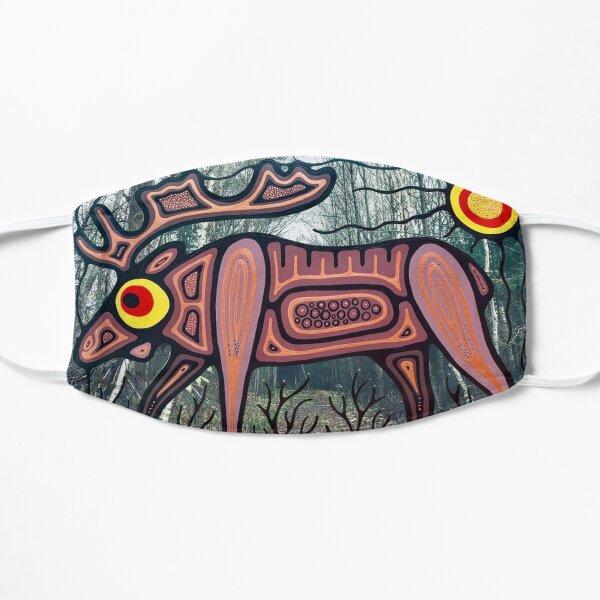 mooz in magnetawan Flat Mask