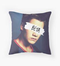 Liam Dunbar | Beta Throw Pillow