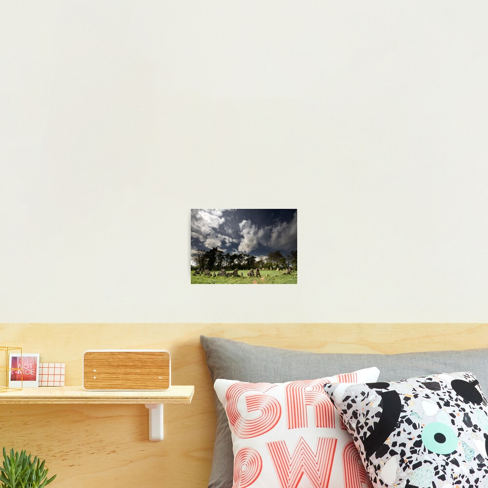 The Rollright Stones at Beltane Photographic Print