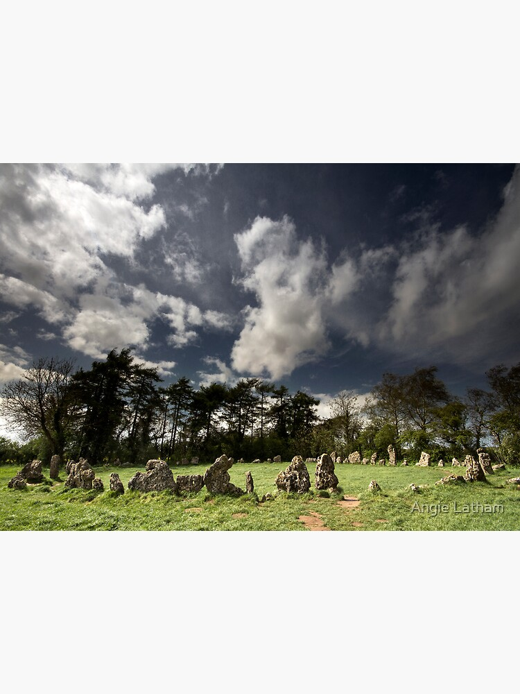 The Rollright Stones at Beltane by AngelaBarnett
