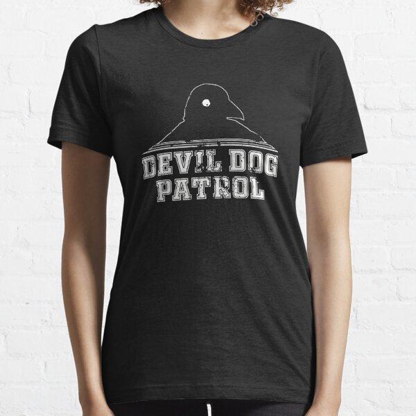 Third Bird - Devil Dog Patrol Essential T-Shirt
