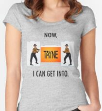 Now TAYNE I can get into  Women's Fitted Scoop T-Shirt