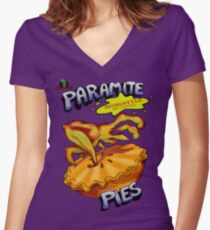Oddworld - Paramite Pie Women's Fitted V-Neck T-Shirt