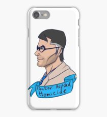 Team Fortess BLU Medic Doctor Assisted Homicide iPhone Case/Skin
