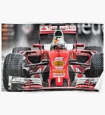 Formel 1 Monaco Grand Prix 2016 Poster