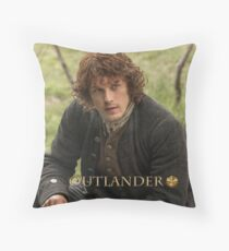 Outlander/Jamie Fraser  Throw Pillow