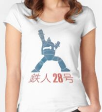 Tetsujin 28-go! Women's Fitted Scoop T-Shirt