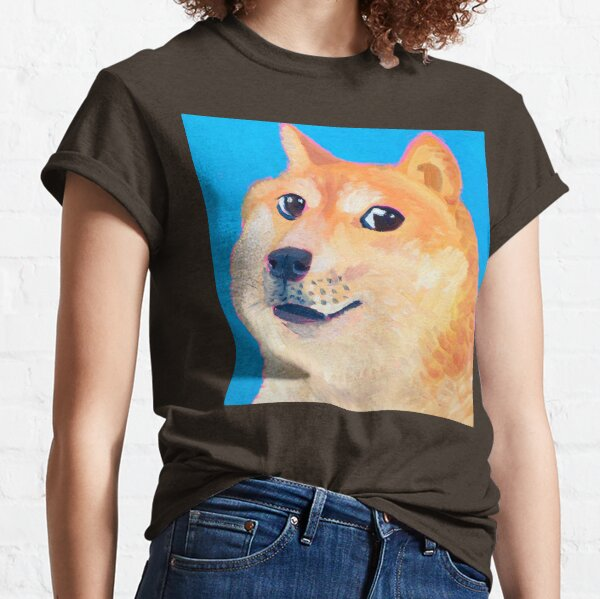 Painting of a nice Doge Classic T-Shirt