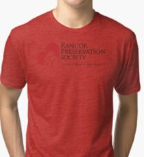 Rancor Preservation Society - White Tri-blend T-Shirt