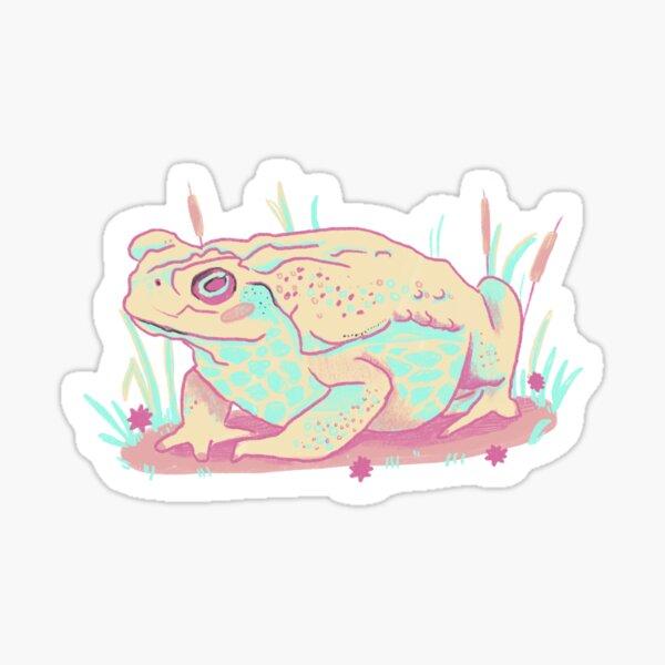 Pastel Toad  Sticker