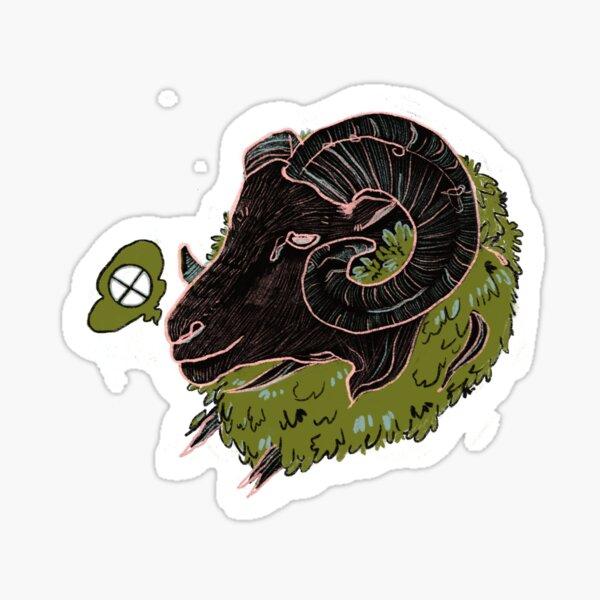 Bush Ram  Sticker