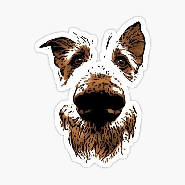 Molly the farm dog Sticker
