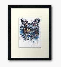 'Owl Insanity' 2014 (Full Image) Framed Print