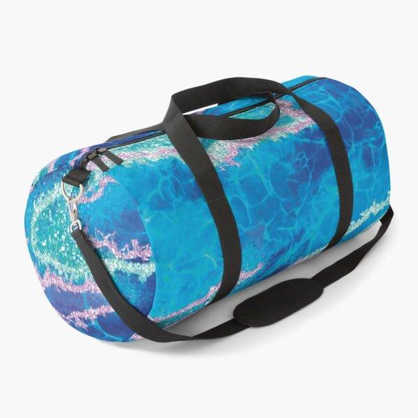 BLUE MARBLE  Duffle Bag