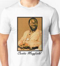 Curtis Mayfield Orange T-Shirt