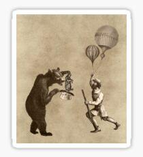 The Magician Bear Sticker