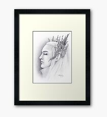 Elven King Framed Print